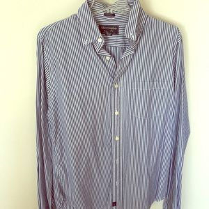 Striped Abercrombie and Fitch Button Down